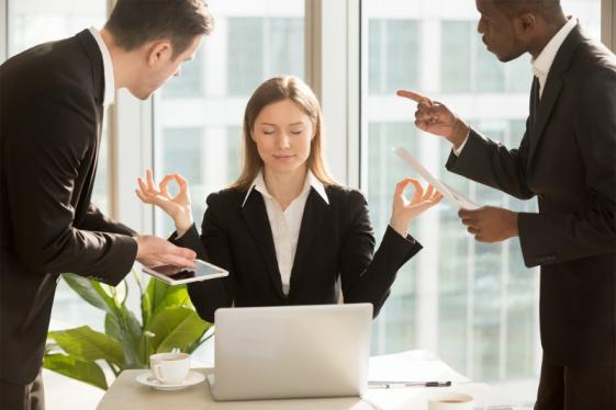 Surmonter le stress au travail